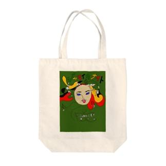 ジャマイカナイト Tote bags