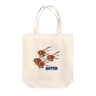 納豆犬(多数) Tote bags