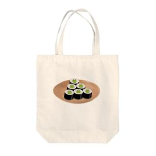 河童巻き Tote bags