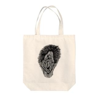 VAGINA Tote bags