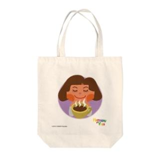 ハーモニーヨガ 「カフェタイム」 Tote bags