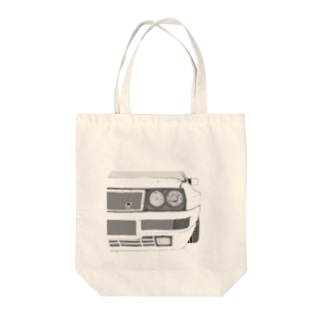 LANCIA DELTA HF FRONT(BK)  Tote bags