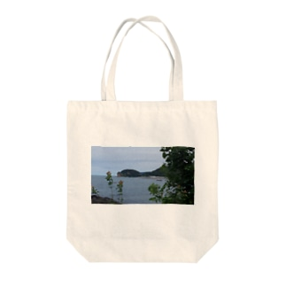 知床 Tote bags