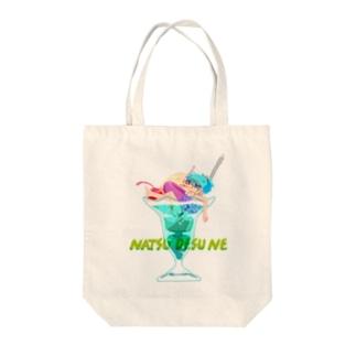 NATSU Tote bags