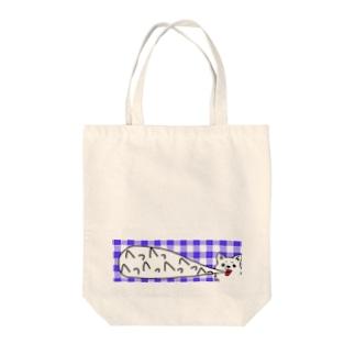 めっちゃいきのあらいいぬ Tote bags