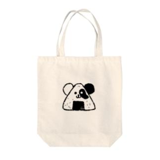 ぱんぎり Tote bags