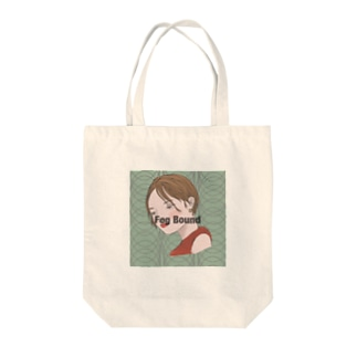Fog Bound Tote bags