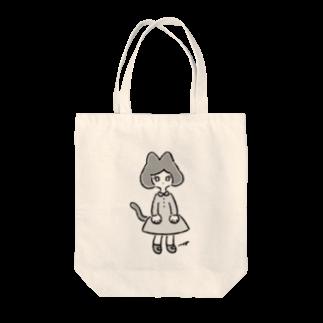 magoのねこさん's(モノクロ) Tote bags