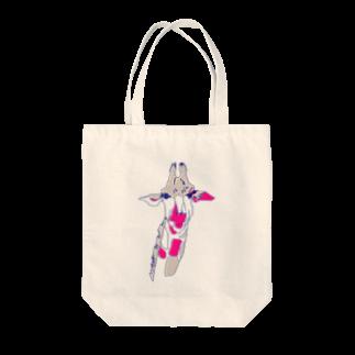 magoのきりんくん Tote bags