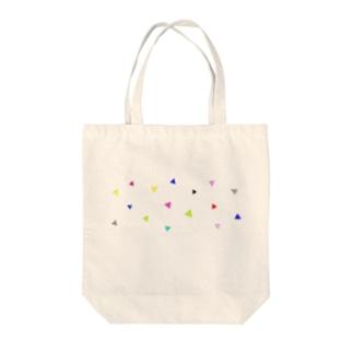 POPな三角 Tote bags