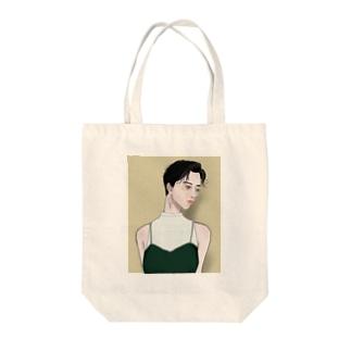 コンタクトよりメガネ派女子 Tote bags