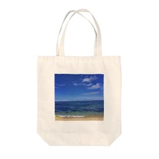 笹川流れの海 𓇼𓆡𓆉  Tote bags