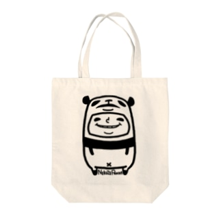 ねこぜパンダと少年 Tote bags