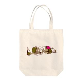 飲杉多(のみすぎた)くん Tote bags
