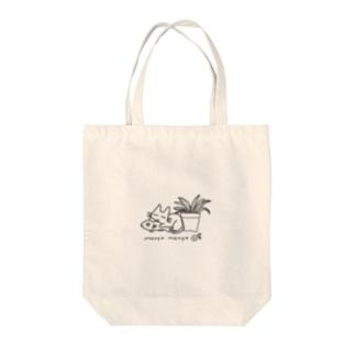 ねこちゃんトート Tote bags