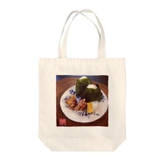 おむすびころりん(大) Tote bags
