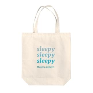 I'm sleepy zzz Tote bags