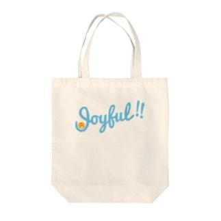 Joyful!! Tote bags