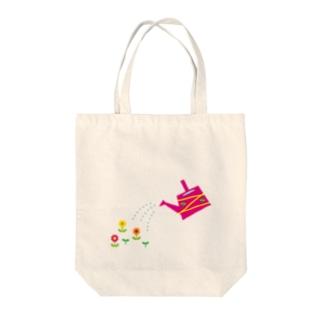 じょうろとお花 Tote bags