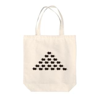 ほねつきにくのヒエラルキー Tote bags