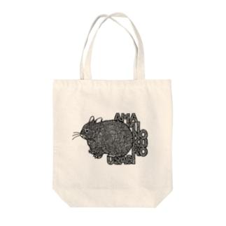 アマミノクロウサギ Tote bags