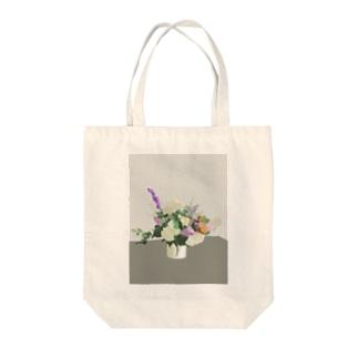初夏のお花 Tote bags