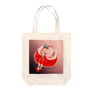 SWEET POISON Tote bags