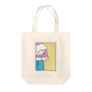 くそいぬちゃん Tote bags