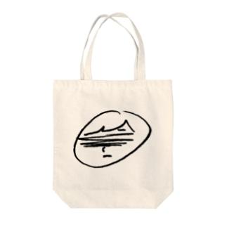 ARuFaふにゃイラスト(ロゴ無) Tote bags