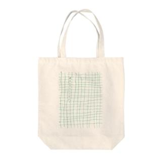 みどりの原稿用紙 Tote bags