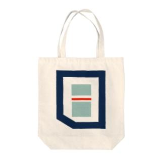 MARINE POKET Tote bags