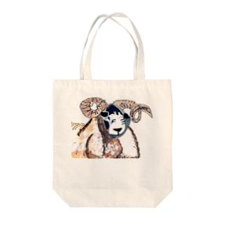羊 Tote bags