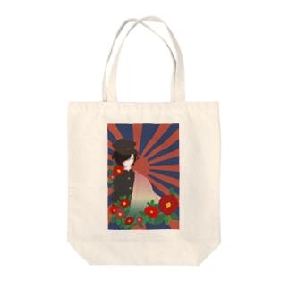 【概念上大正浪漫君】 Tote bags