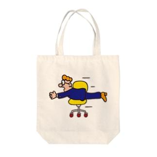 チェアー Tote bags