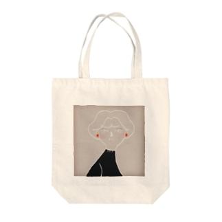 優しくて美しい Tote bags