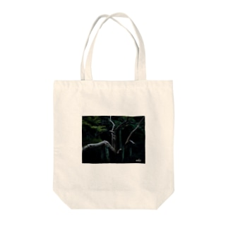 鬼胎 Tote bags
