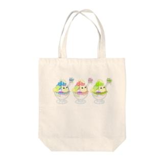 マカニャンカキ氷 Tote bags