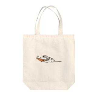 1号艇 Tote bags
