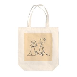 感情ミスト Tote bags