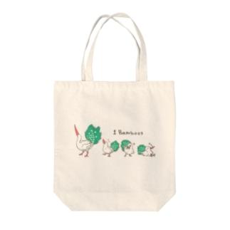 1 Bamboos Tote bags