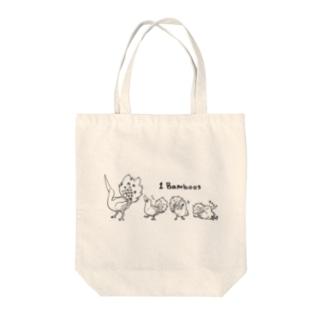 1 Bamboos(淡色) Tote bags