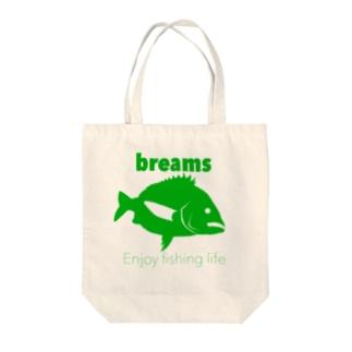 クロダイ(ブリームス) Tote bags