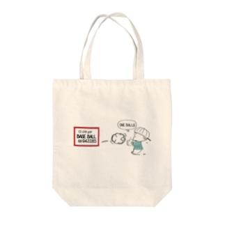 BASE BALL➀ Tote bags