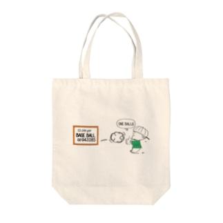 BASE BALL② Tote bags