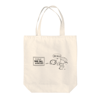 egu shopのBASE BALL old Tote bags