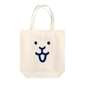 うさみよしお「ココロに笑顔」 Tote bags