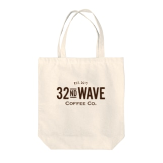 32nd WAVE COFFEE Co. Tote bags