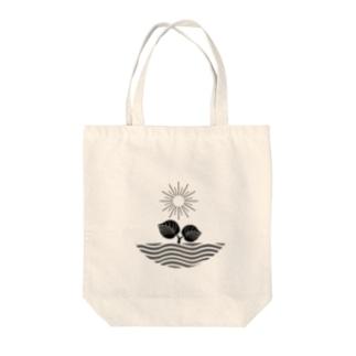 ロゴプリント Tote bags