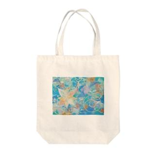 Bloom Tote bags