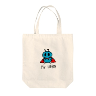 My HERO is ありさん。 Tote bags